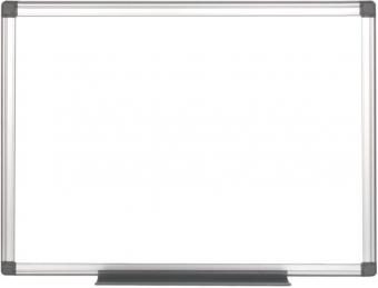 Tabla alba magnetica cu rama din aluminiu, 120 x 240 cm, suprafata emailata, Optima