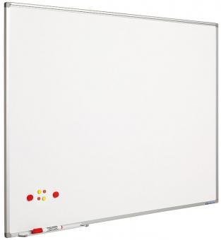 Tabla alba magnetica  60 x 90 cm, profil aluminiu SL, SMIT