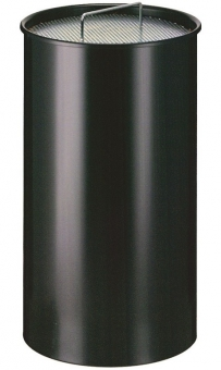 Scrumiera metalica de podea cu nisip, 50 litri, VEPA BINS - rosu