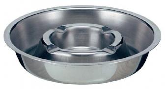 Scrumiera metalica pentru masa, D16 cm, VEPA BINS - stainless steel
