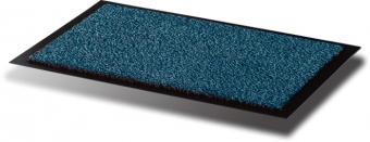 Covoras intrare, pentru praf, polipropilena/vinil, 60 x 90cm, FLOORTEX - albastru
