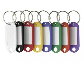 Etichete pentru chei,  25/set,  ALCO - culori asortate