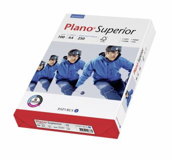 Hartie copiator Plano Superior A4, 100gr/mp, 250coli/top
