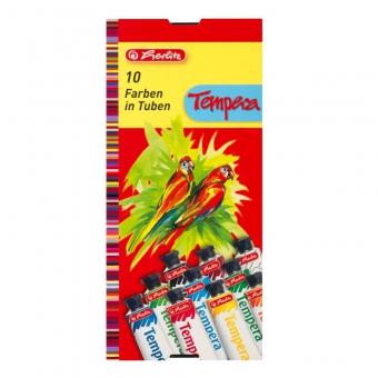Acuarele tempera 16ml/culoare set 10 culori