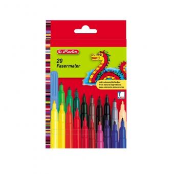 Carioca 2 mm set 20 bucati culori asortate