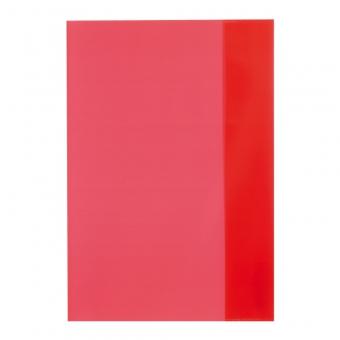 Învelitoare pp A5 rosu translucid herlitz