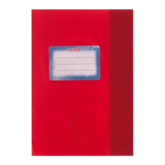 Învelitoare pp A5 rosie herlitz