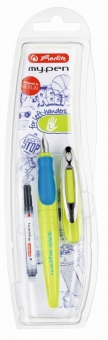 Stilou My.Pen penita L lemon/albastru - blister