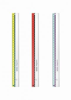 Rigla plastic 30cm My.Pen, disponibil în 3 culori