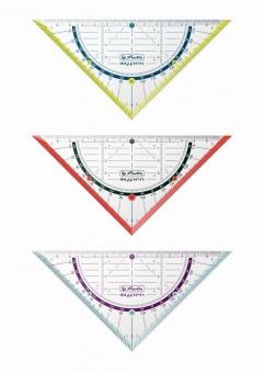 Echer/raportor My.Pen 16 cm disponibil în 3 culori