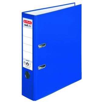 Biblioraft A4 pp 8 cm, culoare albastru Herlitz