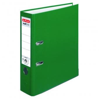 Biblioraft A4 pp 8 cm, culoare verde Herlitz