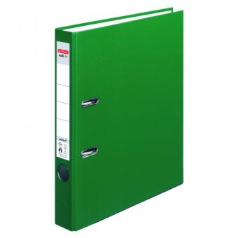 Biblioraft A4 pp 5 cm, culoare verde Herlitz