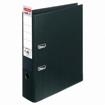 Biblioraft A4 pp (interior-exterior) 8cm chromocolor, culoare negru