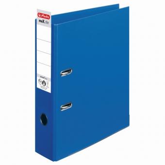 Biblioraft A4 pp (interior-exterior) 8cm chromocolor, culoare albastru