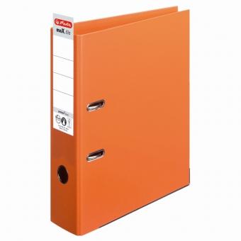 Biblioraft A4 pp (interior-exterior) 8cm chromocolor, culoare orange