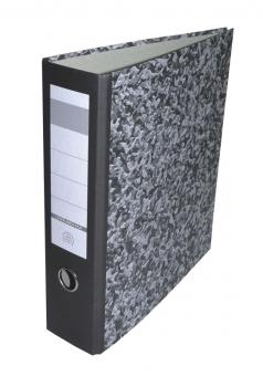 Biblioraft A4 8 cm marmor economic (fara inele si insertie)
