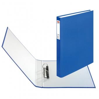 Caiet mecanic A4 2 inele, culoare albastru