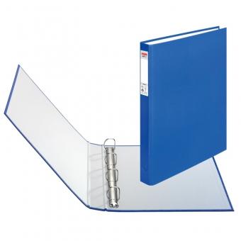 Caiet mecanic A4 4 inele, culoare albastru