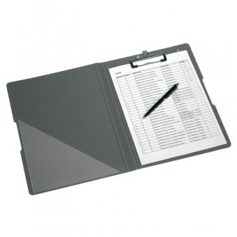 Clipboard dublu A4 EOTG pp, culoare albastru inchis/gri