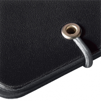 Clipboard dublu A4 EOTG pp, culoare negru/gri