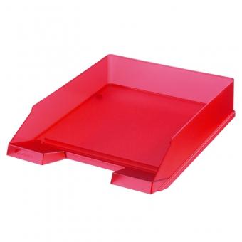 Tavita corespondenta A4 - C4 clasic, culoare rosu translucid
