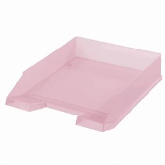 Tavita corespondenta A4-C4 roz transparent Pastell