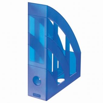 Suport dosare plastic, culoare albastru regal