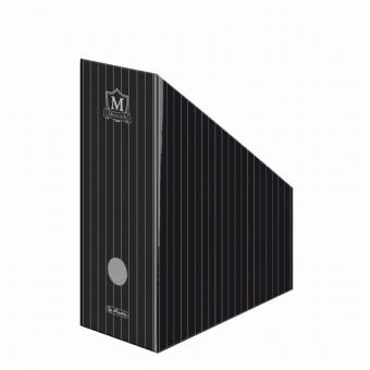 Suport dosare carton A4 motiv Montana IV negru