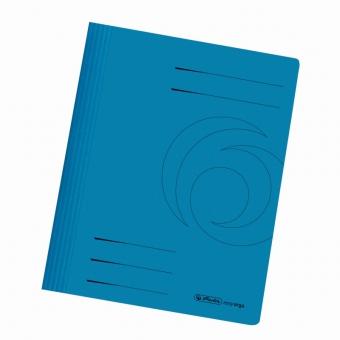 Dosar carton sina A4, culoare albastru