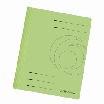 Dosar carton sina A4, culoare verde