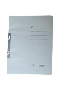 Dosar carton încopciat 1/1 A4, culoare alb