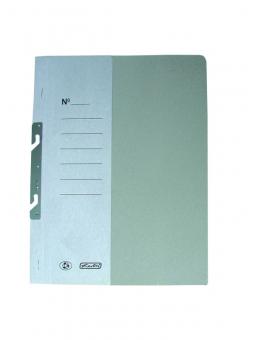 Dosar carton încopciat 1/2 A4, culoare alb