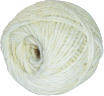 Sfoara bumbac 100 grame/ghem alba