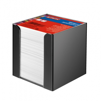 Cub hartie alb 9x9x9 cm 700 file cu suport