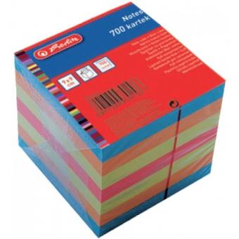 Cub hartie color 9x9x9 cm 700 file