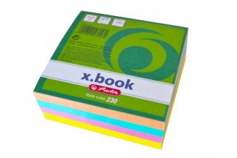 Cub hartie color 8x8x3 cm 230 file