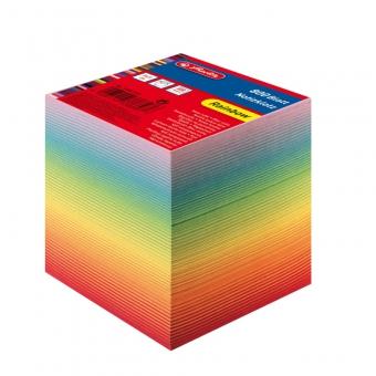 Cub hartie color 9x9x9cm 800 file curcubeu