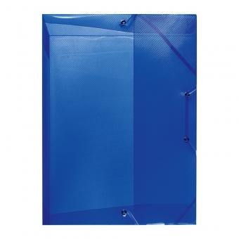 Mapa pp A4 40 mm cu elastic, culoare albastru regal