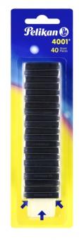 Patroane 4001 mici cerneala, albastru royal, set 40,blister
