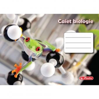 Caiet 24 file biologie, motiv Rock Your School