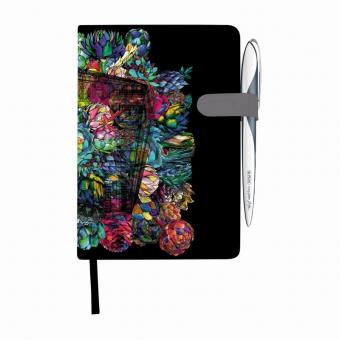 Bloc Notes A5 96 file dictando coperta tare lucioasa cu magnet, motiv My Book Classic Fiona