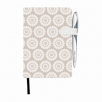 Bloc Notes A5 96 file dictando coperta tare lucioasa cu magnet, motiv My Book Classic Pure
