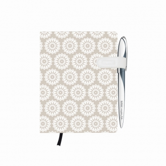 Bloc Notes A6 96 file dictando coperta tare lucioasa cu magnet, motiv My Book Classic Pure