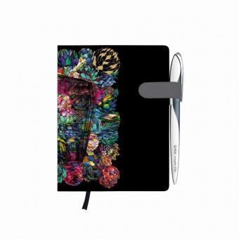 Bloc Notes A6 96 file dictando coperta tare lucioasa cu magnet, motiv My Book Classic Fiona