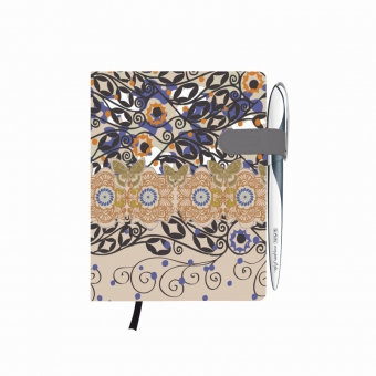 Bloc Notes A6 96 file dictando coperta tare lucioasa cu magnet, motiv My Book Classic Romantic
