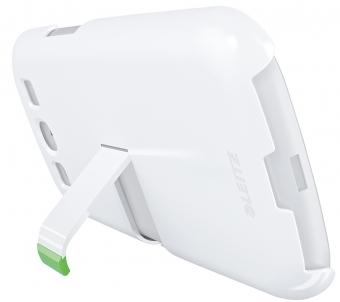 Carcasa LEITZ Complete, cu stativ pentru Samsung Galaxy S3 - alb