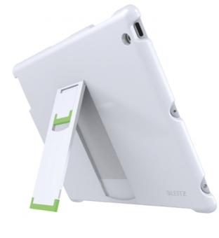 Carcasa LEITZ Complete, cu stativ pentru noul iPad/iPad 2 - alb