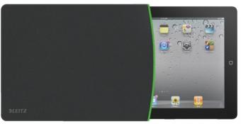 Husa LEITZ Complete, tip manson pentru iPad/tableta PC - negru