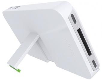 Carcasa LEITZ Complete, cu stativ pentru iPhone 4/4S - alb
